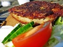 fresh panfried herring