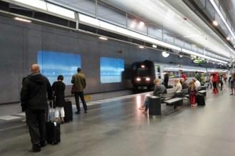 train change Malmö