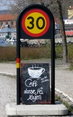 cafe with speed limit