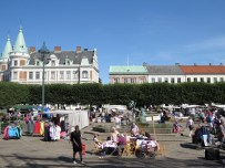 market day in Landskrona