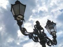 Schlossbrücke lamps