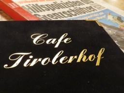 menu & newpaper