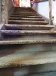 barn stairway
