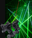 The Crimson Trace Tactical Laser Show Team In Action