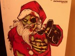 Moral Dilemma – To Shoot Zombie Santa Or Not…