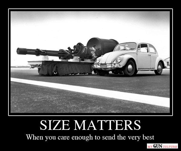 Size Matters - A10 Warthog Gatling Gun