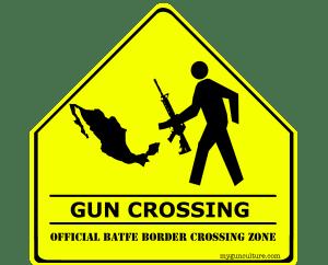 Official BATFE Gun Crossing Zone