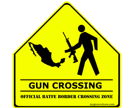 Official BATFE Gun Crossing Zone