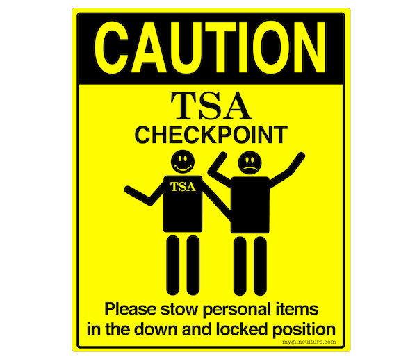 TSA Checkpoint Signage: Truth in Advertising