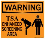 TSA Enhanced Screening Techniques
