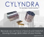 CYLYNDRA - The new shape of wasteful spending