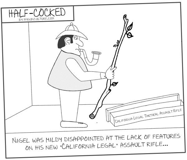 Half-Cocked: California Legal Assault Rifle