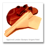 London Olympic Games to Debut Origami Pistol Competition