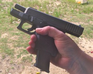 The Glock 26 Gen 4 can use magazines from the Glock 17 and Glock 19 pistols