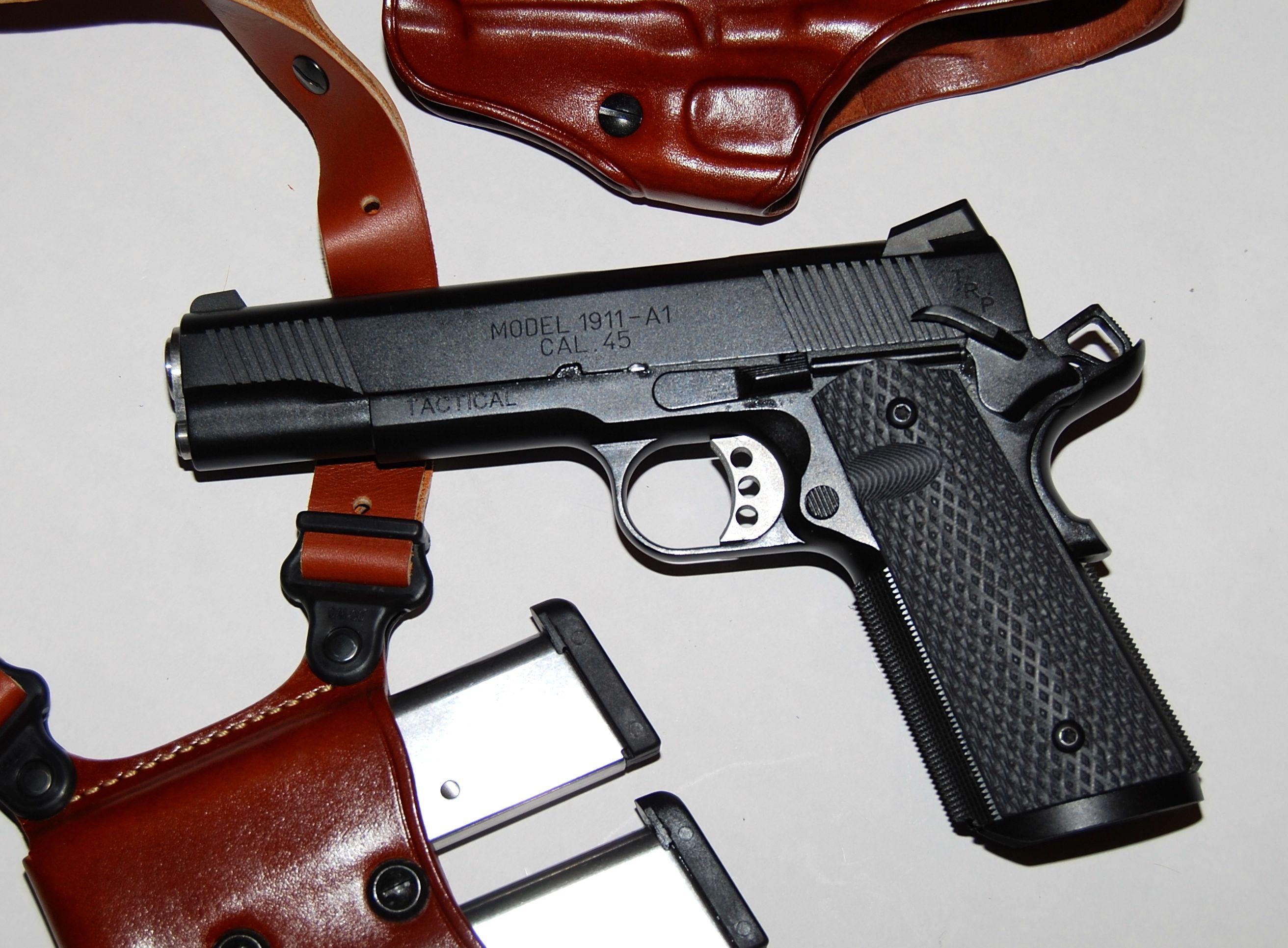 Springfield Professional 1911 .45 Fbi Gun | News Of New Car 2019 2020