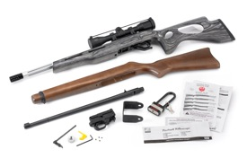 Custom Ruger 10/22 with original parts included