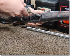 Ruger 10/22 stock removal and installation