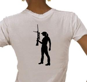 Sniper Girl T-Shirt