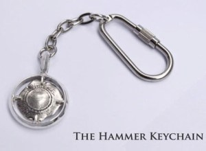 Hot Caliber Hammer Keychain