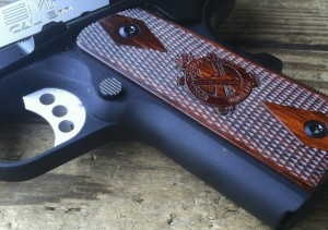 Springfield Armory EMP frame front strap cocobolo grips