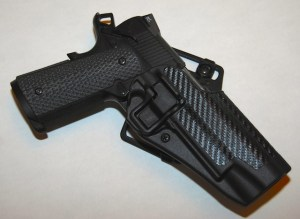 Blackhawk! Serpa Concealment with Carbon Fiber Finish - 1911