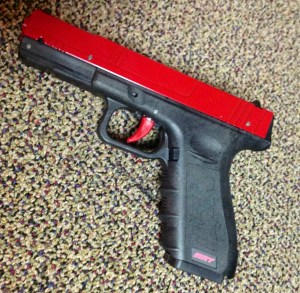 The SIRT Training Pistol from Next Level Training