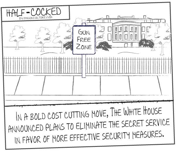 White House enhances security with gun free zone
