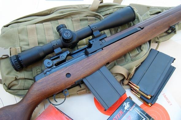 Springfield Armory M1A Hawke Optics Sidewinder IR