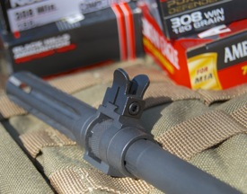 Springfield Armory M1A front sight wings
