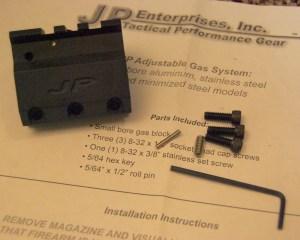AR-15 JP Adjustable Gas Block System Installation