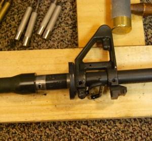 AR-15 JP Gas Block Installation remove sight block