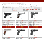Gallery of Guns online shopping