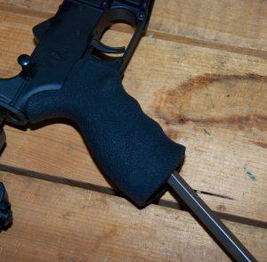 Blackhawk! AR-15 Offset Selector tighten grip