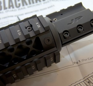 Blackhawk! AR-15 Quad Rail Forend sling mount points