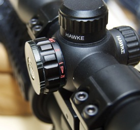 Hawke 1x32 Multi Purpose Scope illumination