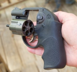 Ruger LCR Revolver loaded rule one