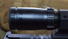 Bushnell Elite Tactical SMRS zoom ring