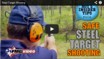 How To (Safely) Shoot Steel And Other Insanely Practical Videos