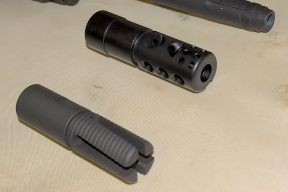 I need (OK, want) to mount the Smith Enterprise Vortex and Good Iron Muzzle Brake on a standard M1A, but there are a few steps to complete first...