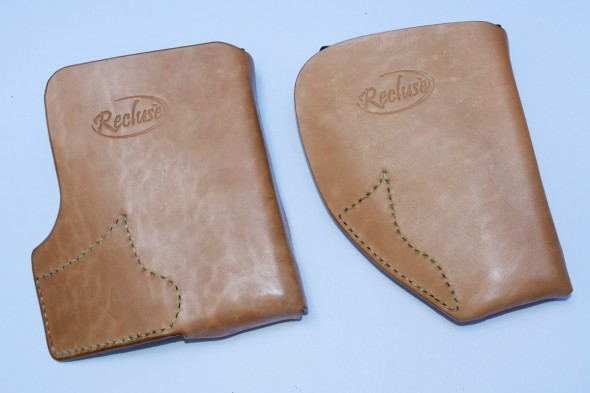 Recluse Holsters feature a large front panel which completely hides the profile of your XD-S.