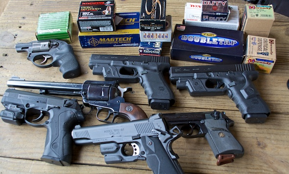 Did any of these penetrate the Engarde Body Armor? Read on to see...