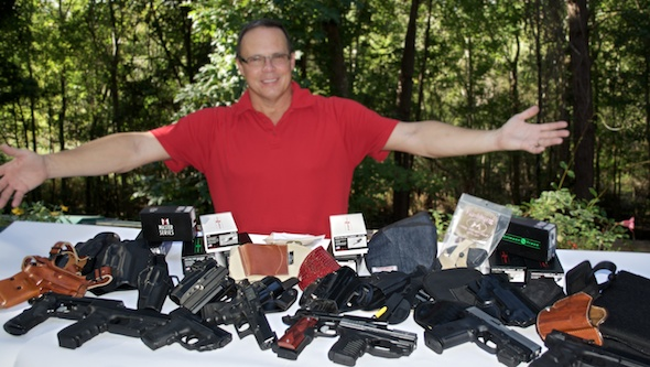 Finding Holsters For Light And Laser Equipped Handguns: The Impossible Dream?