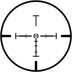 I really like the Z-CIRT reticle. It's a mil-dot geek fantasy.