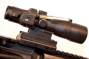 The Trijicon 3x30 ACOG for 300 AAC Blackout.
