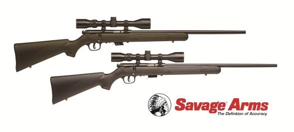 Savage Rimfire Package rifles
