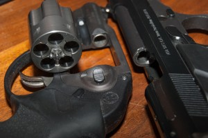 When beginning a dry-fire practice session, check and recheck that your gun is completely empty (including empty magazines for semi-automatic handguns) and that all ammunition has been removed and is far away from your practice area.