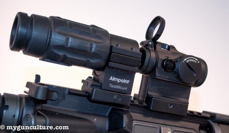 Aimpoint Micro T-2 and 3x Magnifier