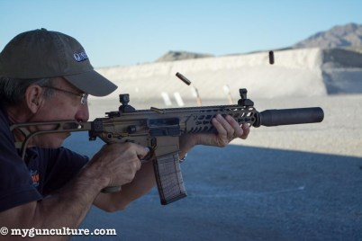Sig MCX 300 Blackout. Full auto, of course.