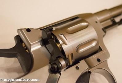 Yes, it's an airgun...
