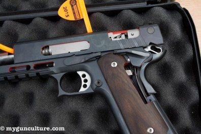 A Korth rolling block design pistol